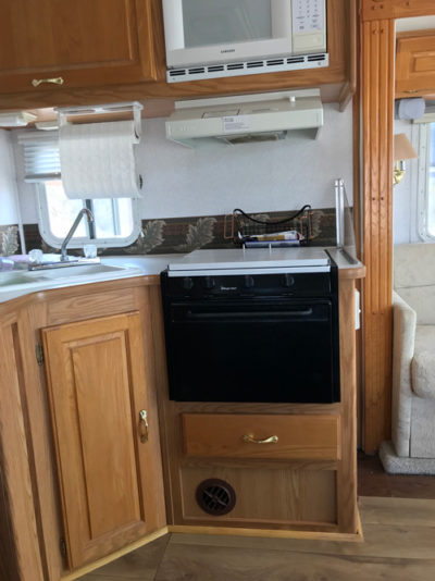Small RV Kitchen