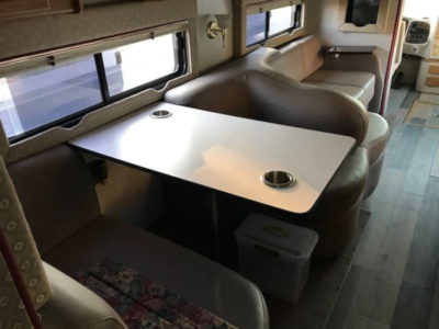 Dining Area in Main Cabin of RV Rental