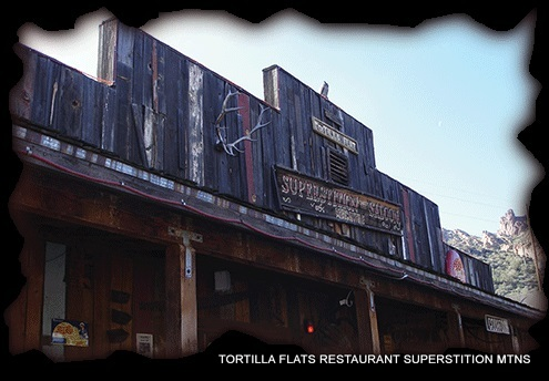 TORTILLA FLATS Restaurant in Superstition Mountains