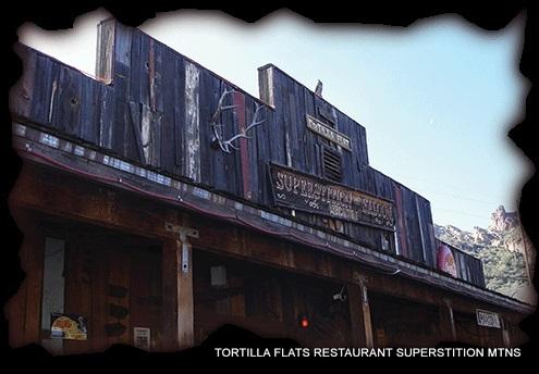 TORTILLA FLATS Restaurant in Superstition Mountains